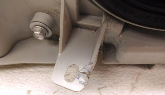 Aa Oem Lexus Ls Left Driver Halogen Chrome Headlight Head Lamp Tab Crack Repair