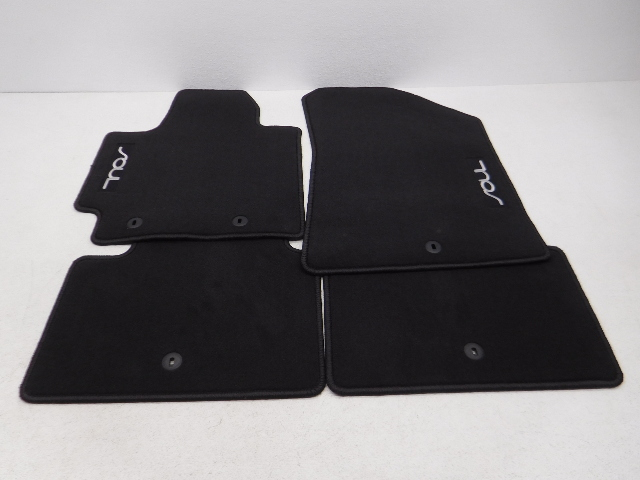 carpet itm floor ebay set of mats new black mat soul oem floors kia