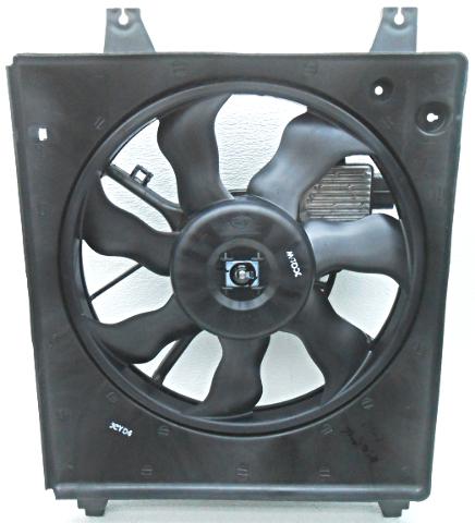 OEM Kia Sedona Right Radiator Condenser Fan Small Chip 25380-4D970
