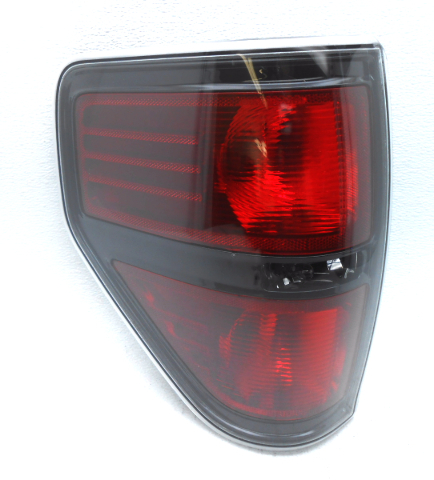 oem ford f150 rear left driver ebony trim tail light tail. Black Bedroom Furniture Sets. Home Design Ideas