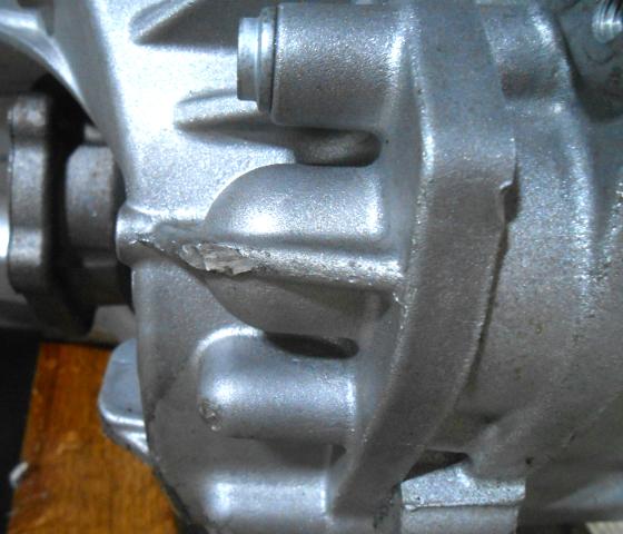 2010 Volkswagen Passat Transmission: OEM Volkswagen Passat, CC, EOS Transmission Fin Chipped