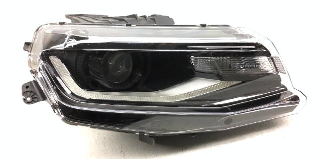 OEM Chevrolet Camaro Right Passenger Bare HID Headlight Head Lamp-Lens Crack