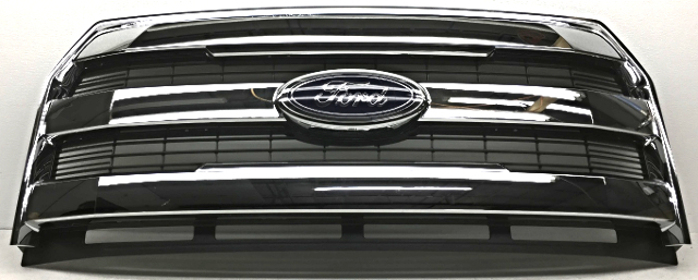 OEM Ford F150 Grille Scratches Guide Missing