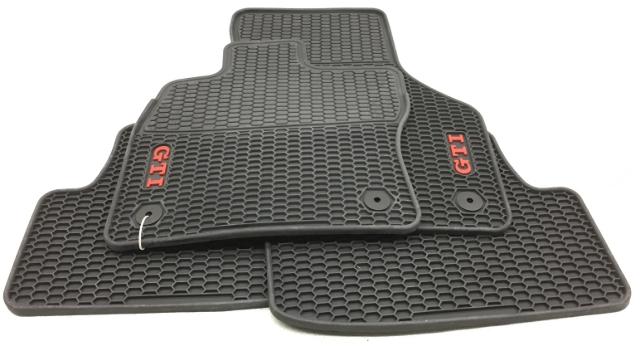 OEM Volkswagen GTI All Weather Floor Mat 5G1-061-550-B-041 Black