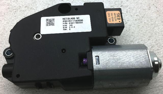 OEM Hyundai Santa Fe Moon Roof Motor 81631-B8000