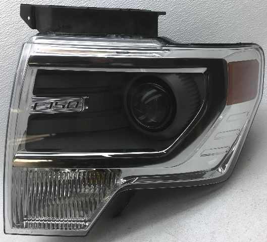 OEM 2013-2014 Ford F150 Left Driver Side Chrome HID Xenon Headlamp DL3Z-13008-AC