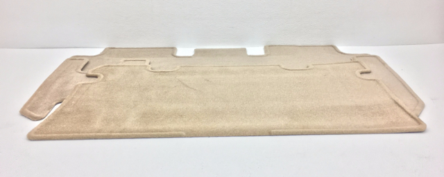 New Old Stock OEM Mazda MPV Rear Floor Mat 0000-8B-F02-A3 Beige