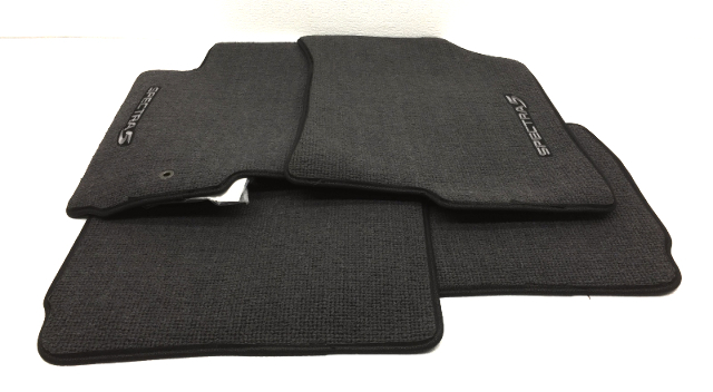 New Old Stock OEM Kia Spectra5 4 Piece Floor Mat Black UC045-AY010-IM