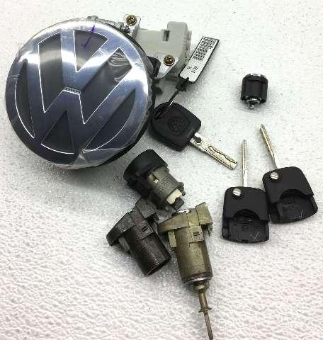 OEM Volkswagen Beetle Lock Cylinder Set 1C0-800-375-CS
