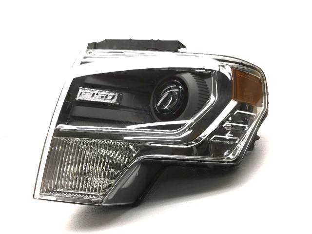 OEM Ford F150 Left Driver Complete Xenon Headlight Head Lamp-Peg MIssing/Visual