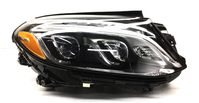 OEM Mercedes GLE SUV Right Adaptive LED Headlight Head Lamp-Tab Missing