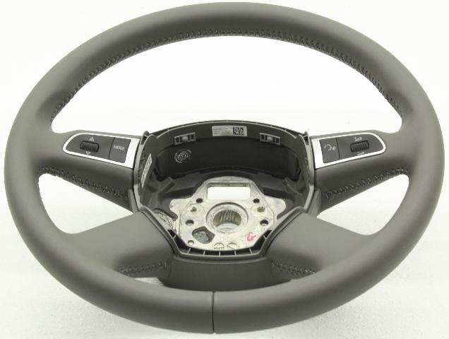 OEM Audi A6 S6 Steering Wheel 4E0-419-091-CM-1YA gray