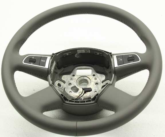 OEM Audi A6 S6 Steering Wheel Small Dents in Leather