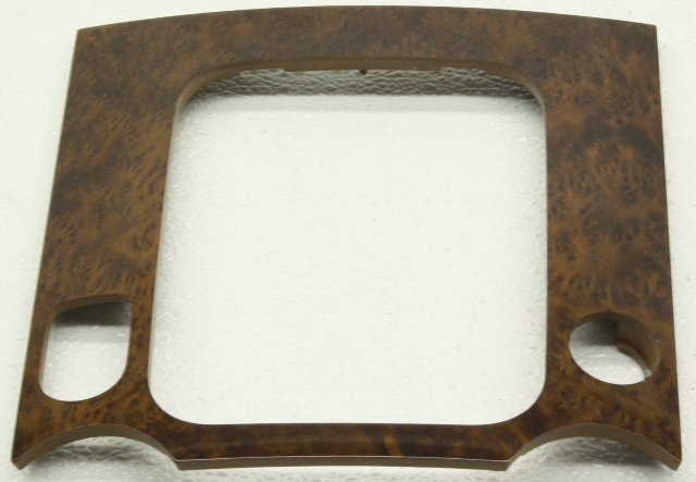 OEM Volkswagen Touareg Shift Bezel Walnut 7L6-863-916-DC-2WE