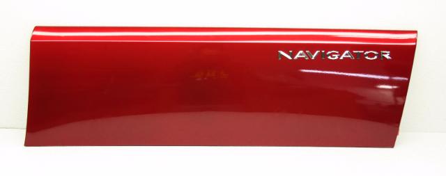 NOS OEM Lincoln Navigator Front Right Door Moulding Redfire 5L7Z-7820878-AAE