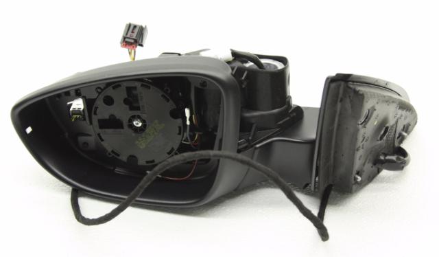 OEM Volkswagen Jetta Left Side View Mirror w/ Heat Blind 6 Wire 5C7-857-507-AD