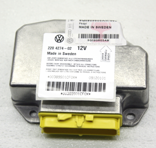 NOS OEM Volkswagen Beetle Convertible Air Bag Control Module 6Q0909605AM002