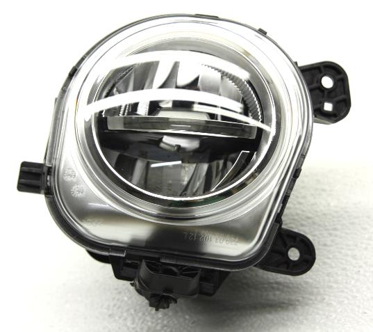 OEM BMW X5 Front Bumper Left Driver LED Fog Light Lamp-Plug Chip