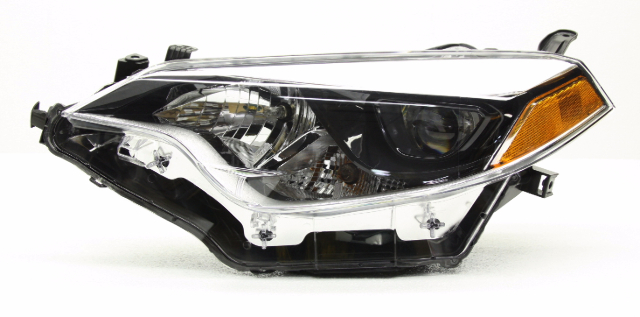 OEM Toyota Corolla Left Driver LED Headlight Head Lamp-Tab Missing