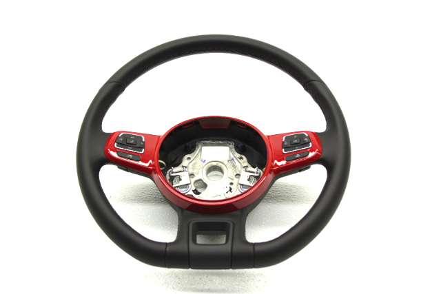 OEM Volkswagen Beetle Red Steering Wheel w/ Triptronic Shift 5C0-419-091-AN-Y3D