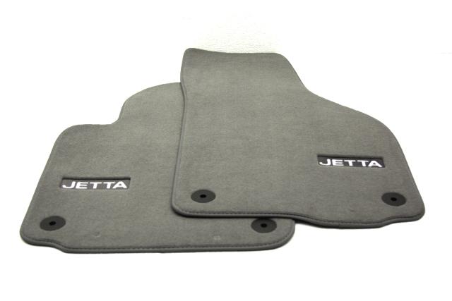 OEM Volkswagen Jetta Front Floor Mat 1KM 061 275 PB RYK Grey