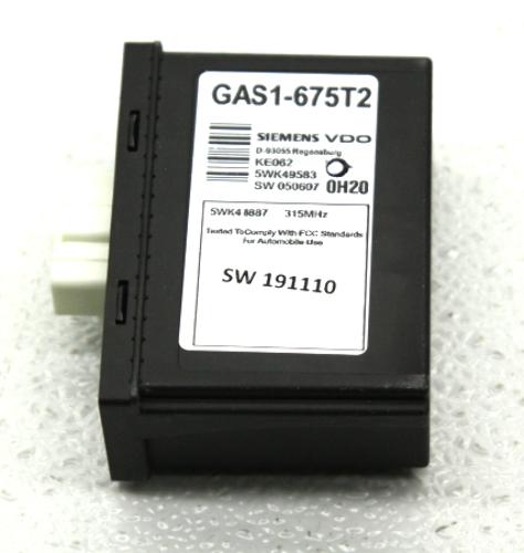 OEM Mazda RX-8 TPMS Tire Pressure Monitoring Module GAS1-67-5T2