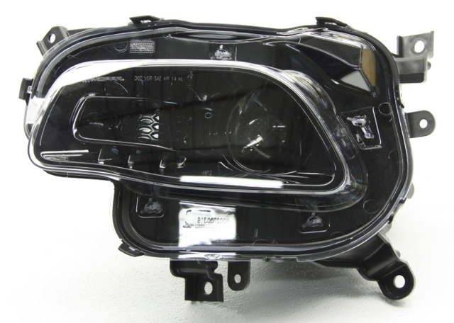 OEM Jeep Cherokee Left Halogen Headlamp 68102847AC Used
