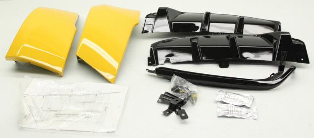OEM Hyundai Velsoter Rear Bumper Skirt 2VF30-AC200-SYY