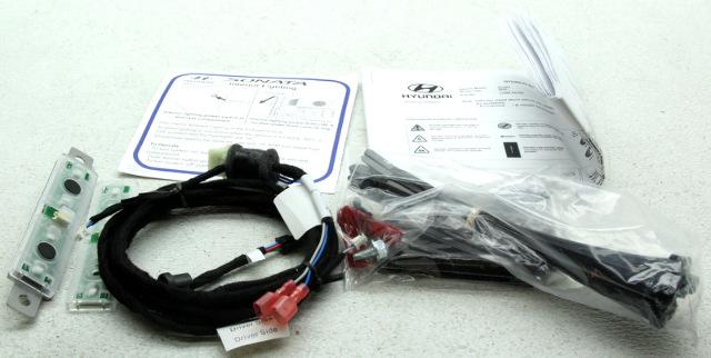 OEM Hyundai Sonata Blue LED Interior Lighting Kit C2068-ADU00