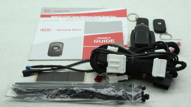 OEM Kia Sportage Remote Start Kit 3WF60-AQ700