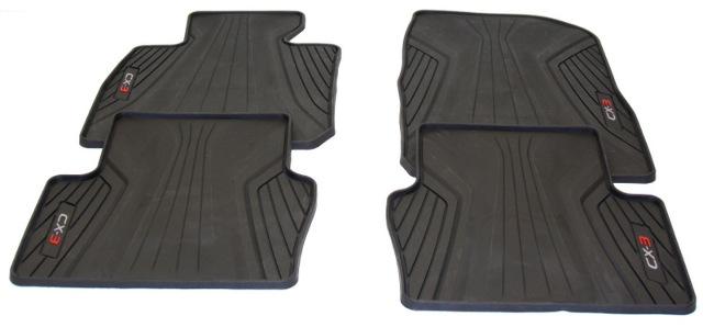 OEM Mazda CX-3 4-Peice Floor Mat 0000-8B-S02
