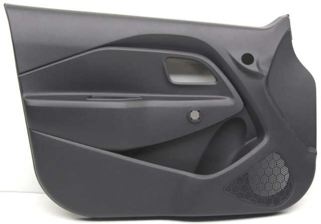OEM Kia Rio Front Door Trim Panel 82307-1W600HU black