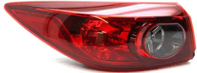 OEM Mazda Mazda 3 Left Driver Side Tail Lamp Lens Chip