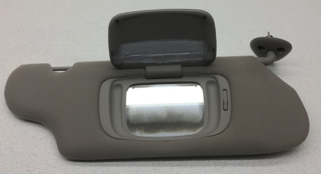 New Old Stock OEM Taurus Right Passenger Sun Visor YF1Z-5404104-AAB Lt. Gray 1dbefad2314