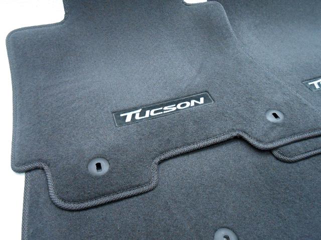 New Oem 2016 Hyundai Tucson Floor Mat Set Dark Grey