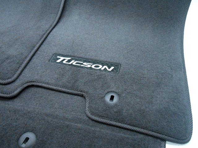 New Oem 2016 Hyundai Tucson Floor Mat Set Dark Grey D3f14 Ac000