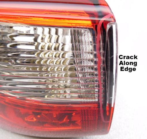 OEM Infiniti QX60 JX35 Left Hand Driver Side LED Tail