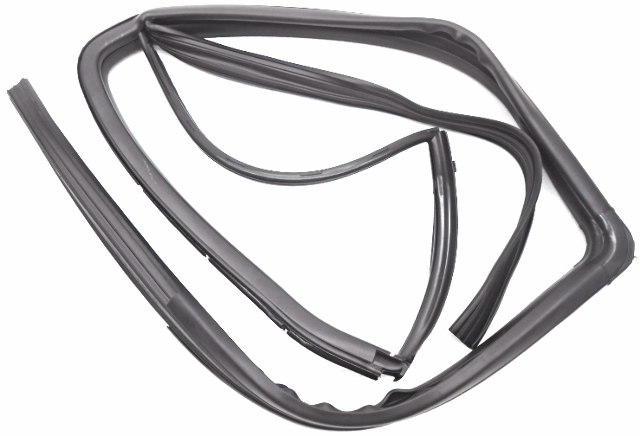 OEM Hyundai Santa Fe Rear RH Passenger Side Glass Weatherstrip