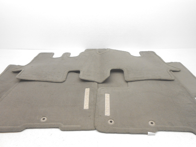 OEM Kia Sedona 4-Piece Floor Mat Set Gray 4DH14-AP000ND