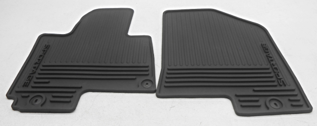OEM Kia Sportage Front Floor Mats Black 3W013-ADU00