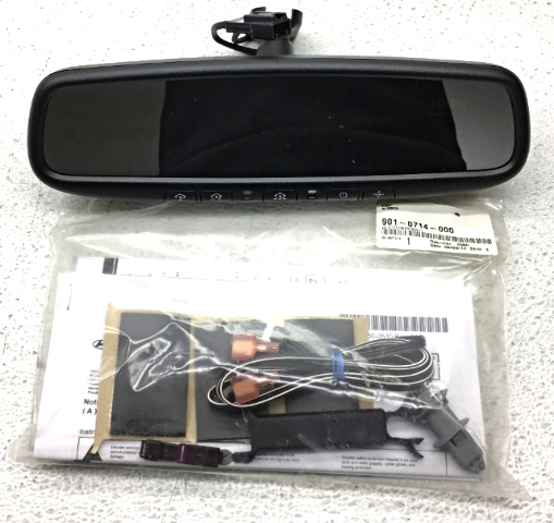 Oem Hyundai Kia Interior Rear View Mirror 1r062 Adu01
