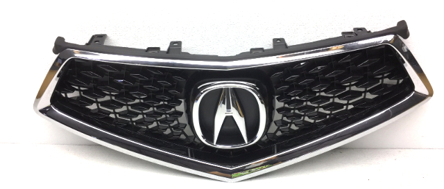 OEM Acura MDX w/o Smart Cruise & Camera Option Front Upper Grille-Scratches