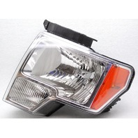 OEM Ford F150 King Ranch Lariat STX XL XLT Left Driver Side Headlamp Lens Crack