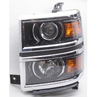 OEM Silverado 2500, 3500 Left Driver Side Headlamp 84096572 Top Inner Tab Gone