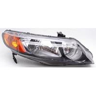 Aftermarket Passenger Side Headlamp For Honda Civic