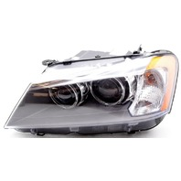 OEM BMW X3 Left Driver Side HID Headlamp Lens Flaw 63117277003