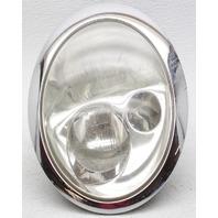 OEM Mini Cooper Left Driver Side Headlamp 63126911705 Scratches