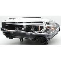 OEM BMW X5 X6 Left Driver Side HID Headlamp Lens Mark