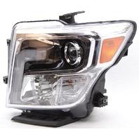 OEM Nissan Titan, XD Left LED Headlamp Tab Missing 26060EZ21B