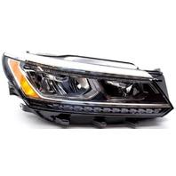 OEM Volkswagen Passat Right Passenger Side LED Headlamp Lens Cracks